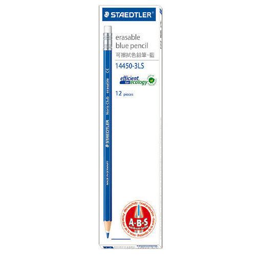 ~施德樓 STAEDTLER~14450~3LS 可擦拭色鉛筆藍色 ^(12入組^)