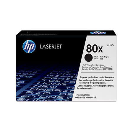 【HP】CF280X/80X 原廠黑色高容量碳粉匣