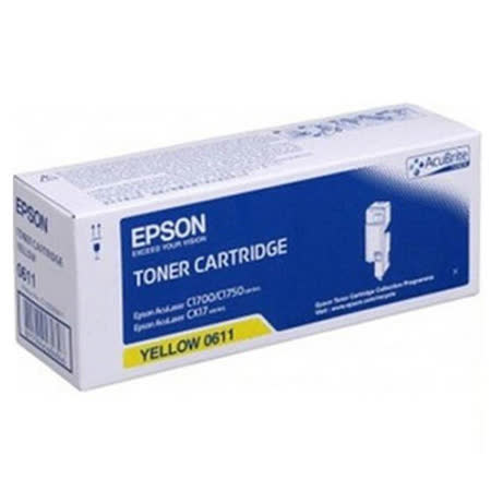 【EPSON】S050669 原廠黃色碳粉匣