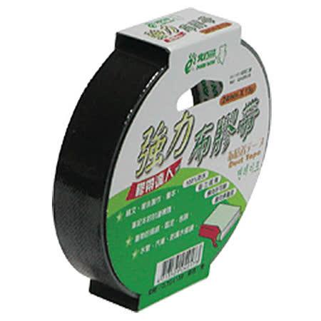 【北極熊 Polar Bear】CLT2415B 黑色布紋膠帶/布質膠帶 (24mm×15yds)