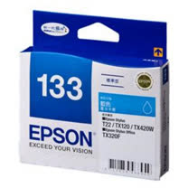 【EPSON】T133250 133 原廠藍色墨水匣
