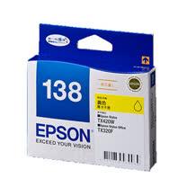 【EPSON】T138450 138 原廠黃色高印量墨水匣