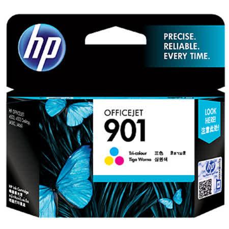 【HP】CC656AA /NO.901 原廠彩色墨水匣