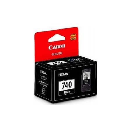 【CANON 佳能】PG-740BK 原廠黑色墨水匣
