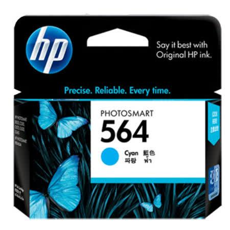【HP】CB318WA/NO.564 原廠藍色墨水匣