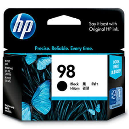 【HP】C9364WA/NO.98 原廠黑色墨水匣