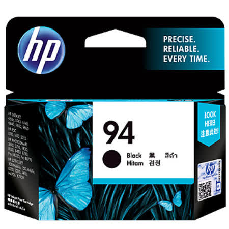 【HP】C8765WA/NO.94 原廠黑色墨水匣
