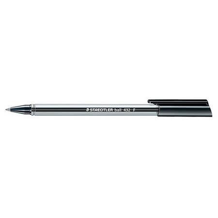 【施德樓 STAEDTLER】MS432F-9 三角原子筆 (黑色)