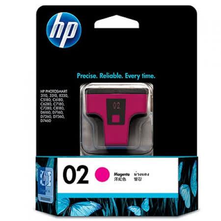 【HP】C8772WA/NO.02 原廠紅色墨水匣