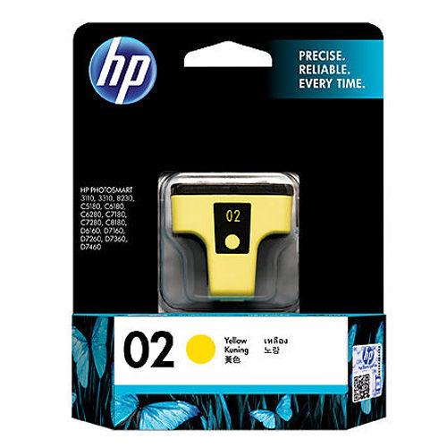 【HP】C8773WA/NO.02 原廠黃色墨水匣