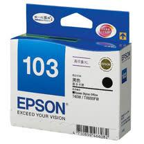 【EPSON】T103150 103 原廠高容量黑色墨水匣