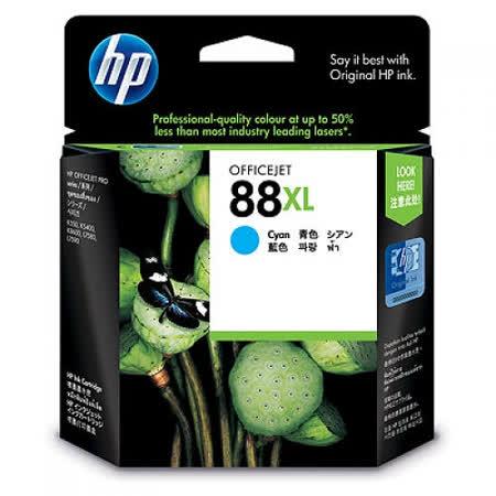【HP】C9391A/NO.88XL 原廠高容量藍色墨水匣