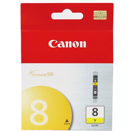 【CANON 佳能】CLI-8Y 原廠黃色墨水匣