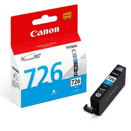 【CANON 佳能】CLI-726 C 原廠藍色墨水匣