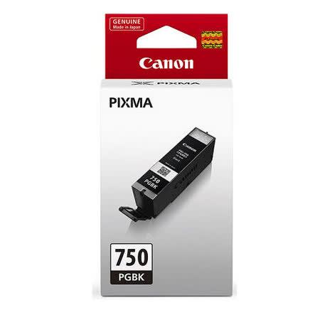 【CANON 佳能】PGI-750PGBK 原廠黑色墨水匣