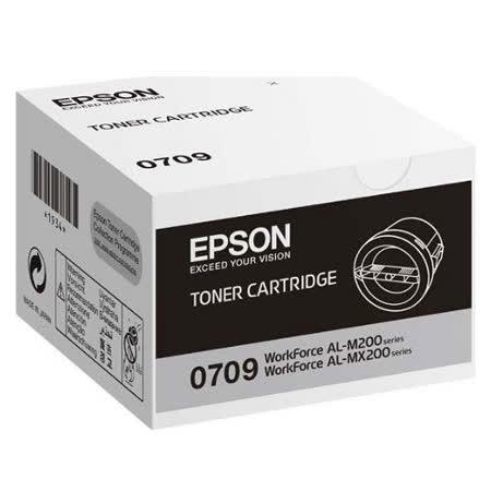 【EPSON】S050709 (M200DN / MX200DW / MX200dnf / MX200dwf) 原廠黑色碳粉匣