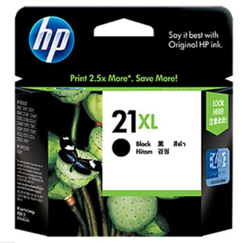【HP】C9351CA/NO.21XL 原廠高容量黑色墨水匣