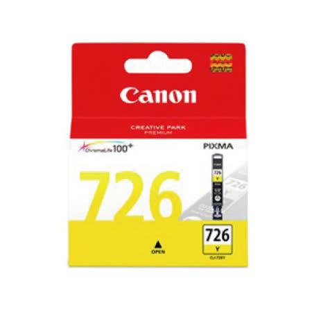 【CANON 佳能】CLI-726Y 原廠黃色墨水匣