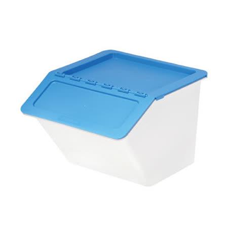 【樹德 SHUTER】MHB-3741 大嘴鳥家用整理箱/收納箱 (時尚藍/22L)