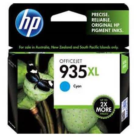 【HP】C2P24AA/NO.935XL 原廠高容量藍色墨水匣