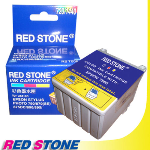 RED STONE for EPSON T008051墨水匣 彩色