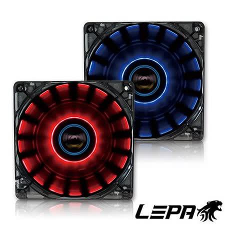 LEPA CHOPPER 360度環旋LED燈12公分風扇
