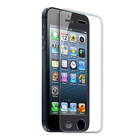 iPhone 5/5S/5C專用 9H防爆鋼化玻璃保護貼-2入組