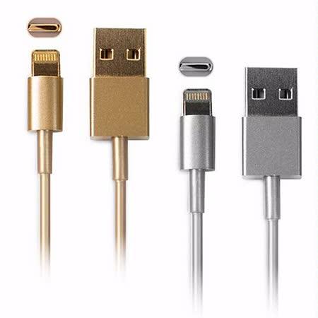 Apple iPhone 5S / iPad mini 金屬色充電傳輸線