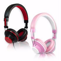 IP805 高清時尚耳罩式耳機麥克風(線控)