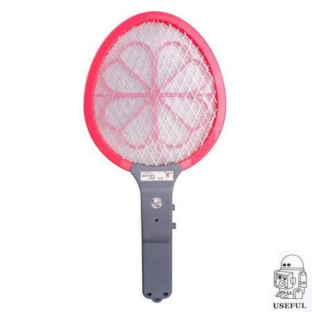 【USEFUL】夜光面迷你三層電蚊拍-電池式(UL-261)