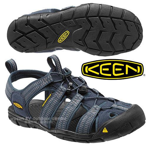 ~美國 KEEN ~男 CLEARWATER CNX 輕量化 護趾涼鞋透氣.快乾.登山.健