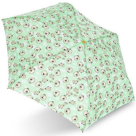 【rainstory】棉花羊(綠)抗UV輕細口紅傘