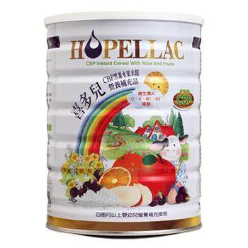 Hopellac喜多兒 CBP黑棗水果米精 450g(1罐)