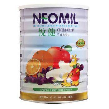NEOMIL悅健 CBP黑棗水果米精 450g(1罐)