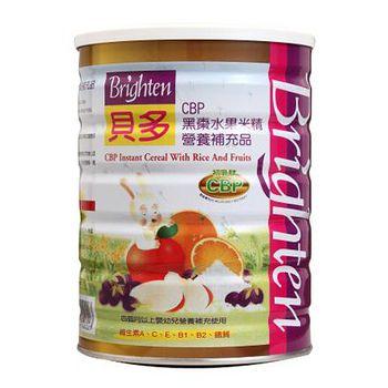 Brighten貝多 CBP黑棗水果米精 450g(1罐)