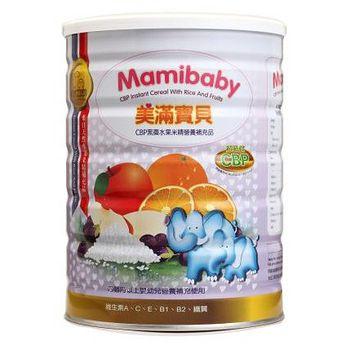 MamiBaby美滿寶貝 CBP黑棗水果米精 450g(1罐)