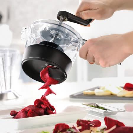 PUSH!廚房用品 旋轉式防切手刨絲器切絲切片切菜器
