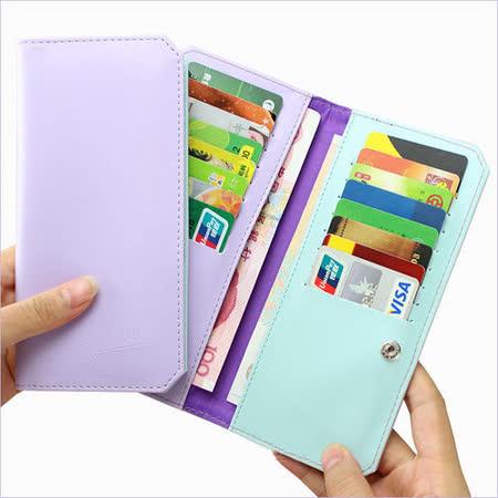 【PS Mall】可愛糖果色系多功能超薄卡片/信用卡收納包 (J148)