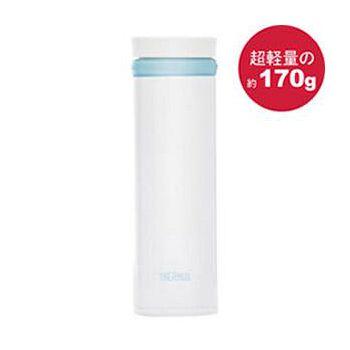 THERMOS膳魔師 極輕量不鏽鋼真空保溫杯350ml-珍珠白色 JNO-350