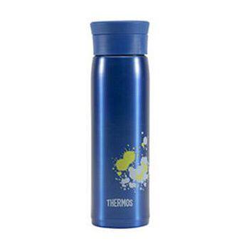 THERMOS膳魔師 不鏽鋼真空保溫杯600ml-藍色 JMZ-600