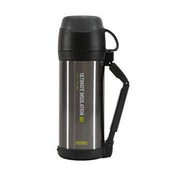 THERMOS膳魔師 不鏽鋼真空保溫瓶1000ml-銀灰色 FFW-1000