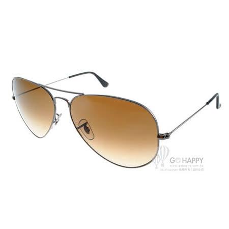 Ray Ban太陽眼鏡 (槍銀-漸層棕色) #RB3025 00451-62mm