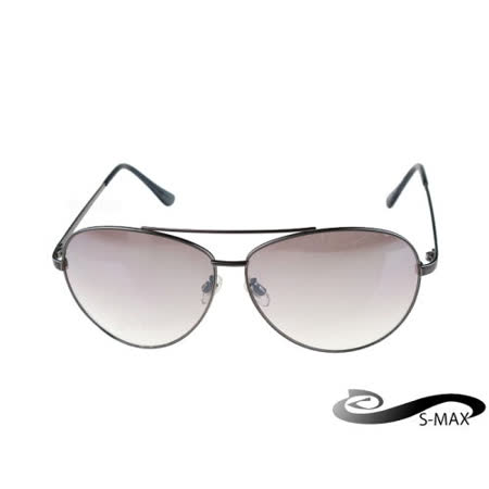 送眼鏡盒 【S-MAX專業代理品牌】金屬復古雷朋風格眼鏡 男明星的最愛 流行必備 抗UV400太陽眼鏡 《 附眼鏡盒 》