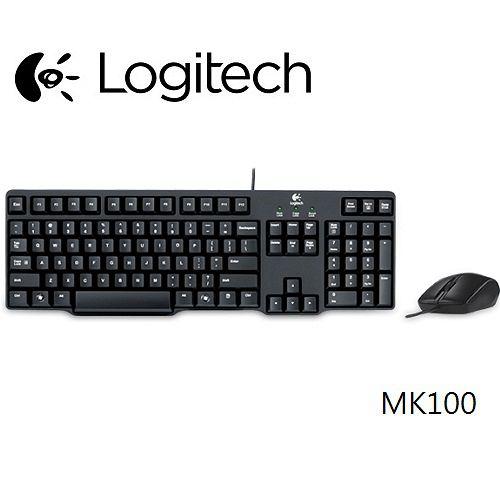 羅技MK100有線鍵盤滑鼠組二代