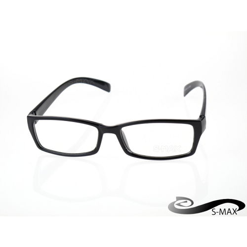 送眼鏡盒【S-MAX專業代理品牌】粗框平光抗uv400眼鏡透明鏡片 紫外線 UV400鏡片