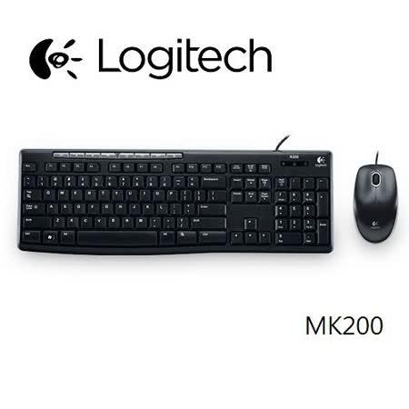 羅技MK200有線鍵盤滑鼠組