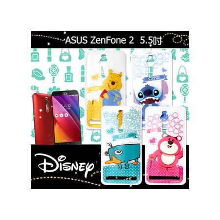 迪士尼授權正版 華碩ASUS ZenFone 2 ZE551ML 5.5吋 休閒點點透明軟式保護套 手機殼 (新秀組)