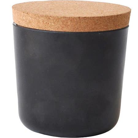 《BIOBU》Gusto軟木蓋儲物罐(黑S)