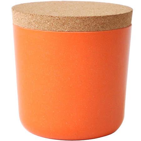 《BIOBU》Gusto軟木蓋儲物罐(橘S)