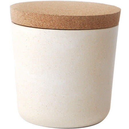 《BIOBU》Gusto軟木蓋儲物罐(白S)